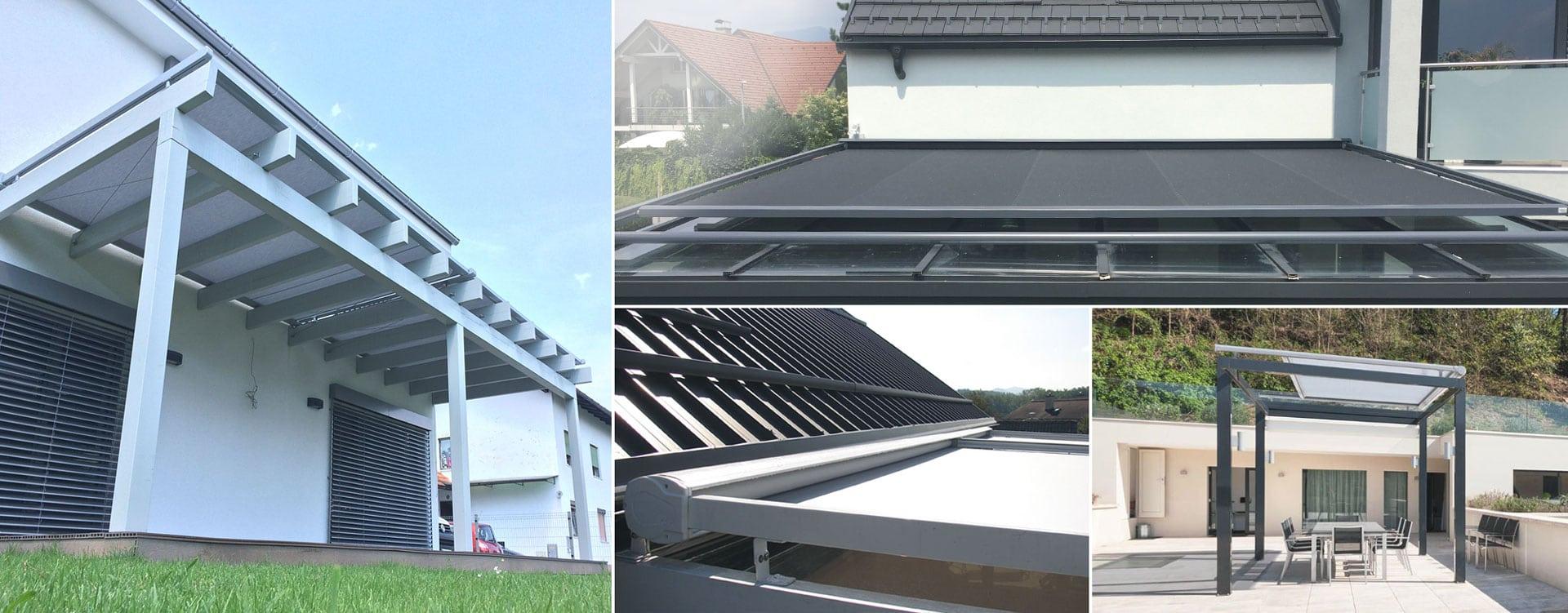 Strešne in fasadne tende